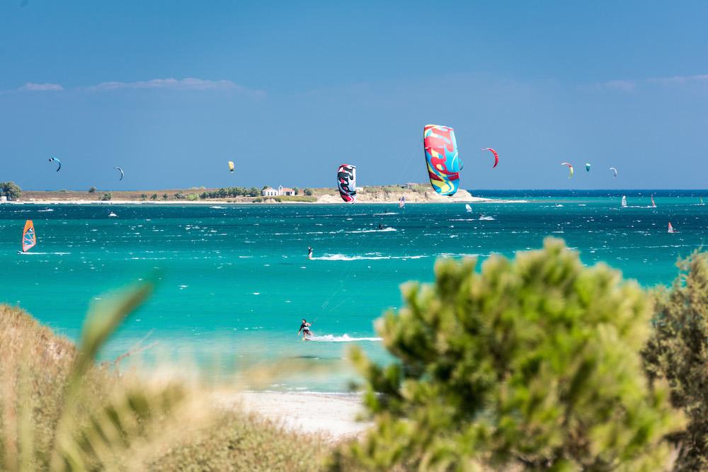 Day shot of Keros Bay