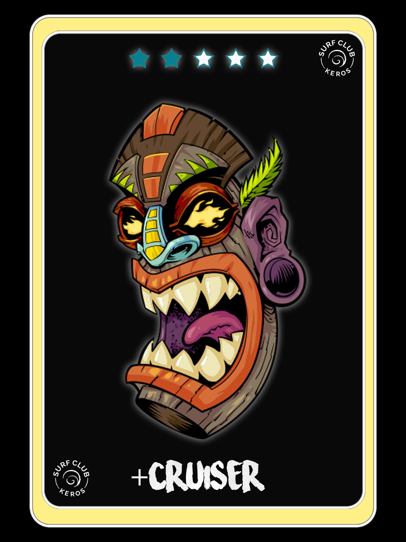 WILD CARDS BANNER CRUISER