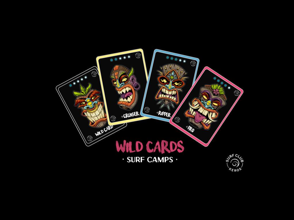 WILD CARDS BANNER WIth wild tiki masks
